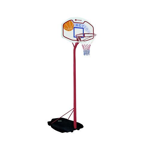 Tabellone basket con canestro e rete Tucson Garlando BA-211