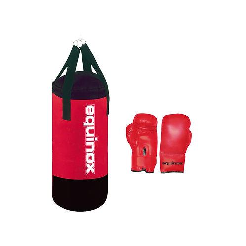 Set Boxe Junior PRO Equinox sacco boxe 6 kg con guanti 6 oz BOE-002