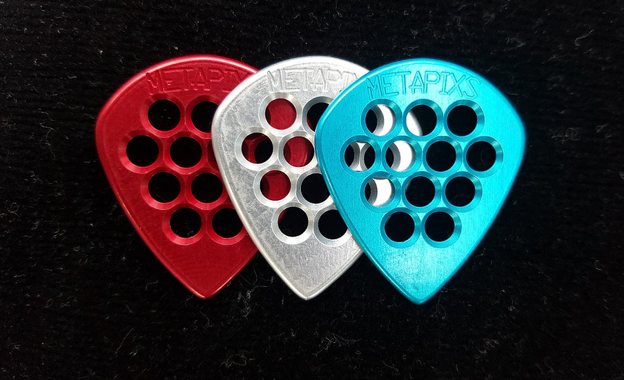 Aluminum Pick - combo color - 3 pack