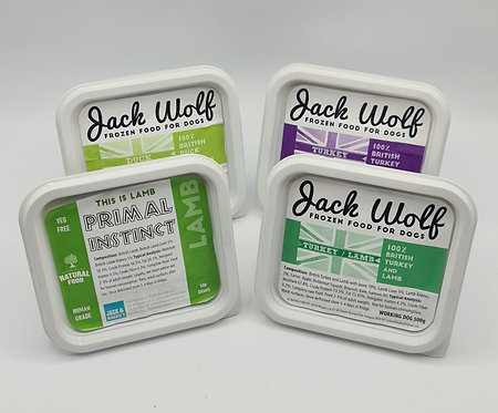 10 x 500g tubs Chicken-Free Sample Pack