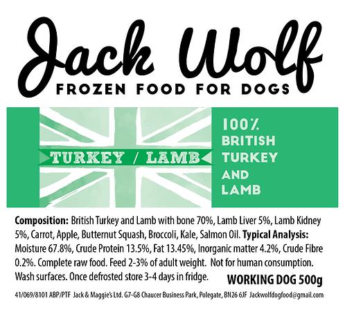 Lamb & Turkey 500g