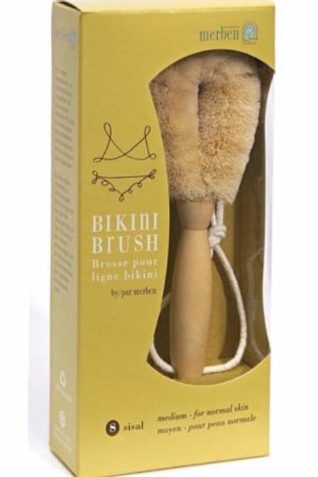 "Brushes - Medium (Sisal)  Bikini Brush 7"" length"