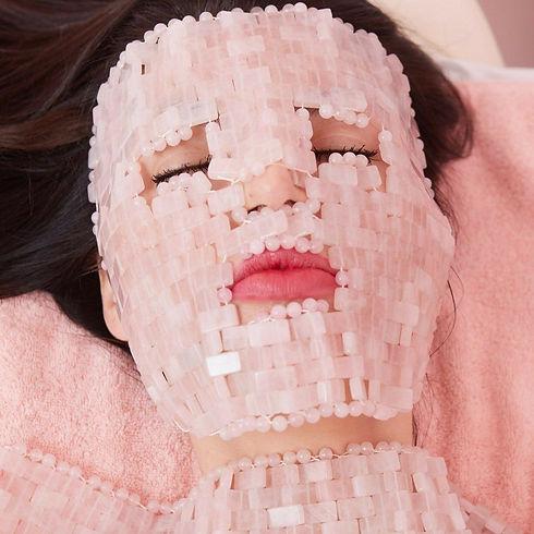 Angela Caglia _ Rose Quartz Goddess Face