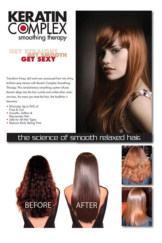 Sterling Heights Salon with Keratin Complex Services