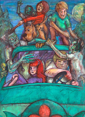 Scooby and Friends VS. Zombies