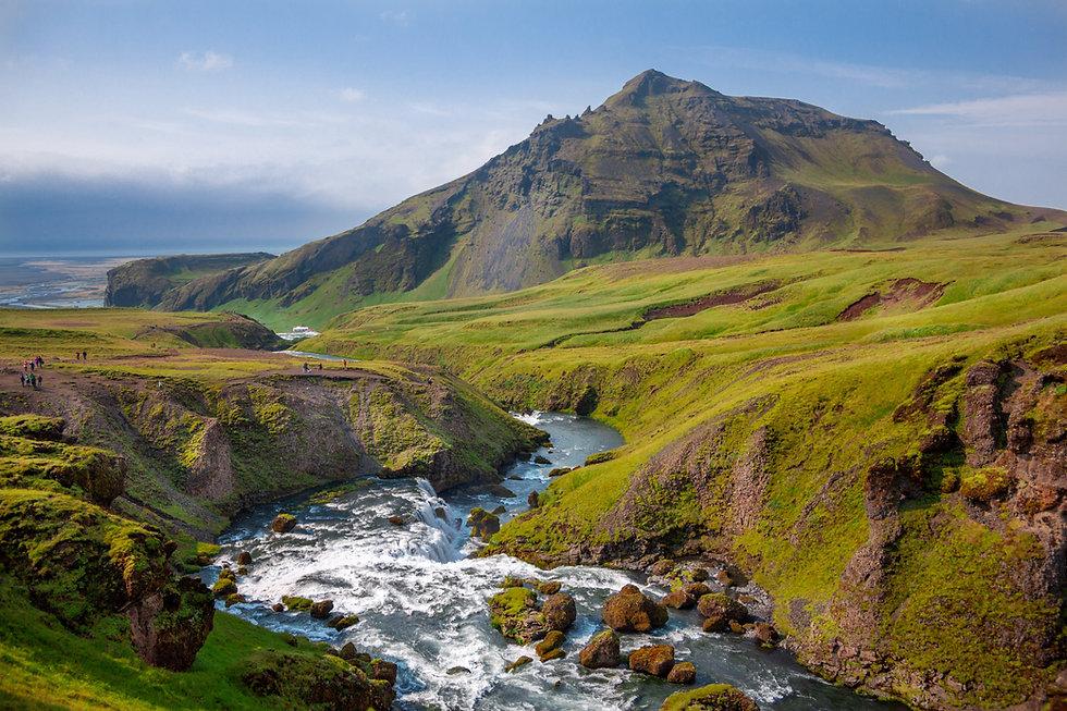 Berg en rivier