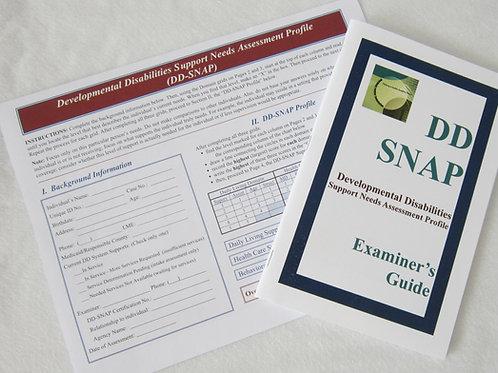 The Developmental Disabilities Support Needs Assessment Profile (DD-SNAP)