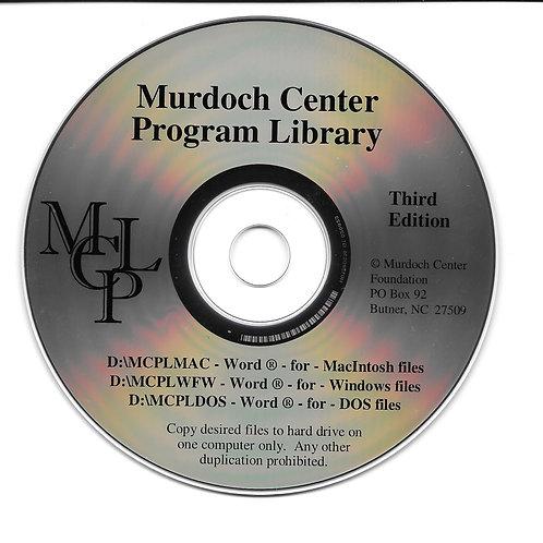 Program Library CD-ROM