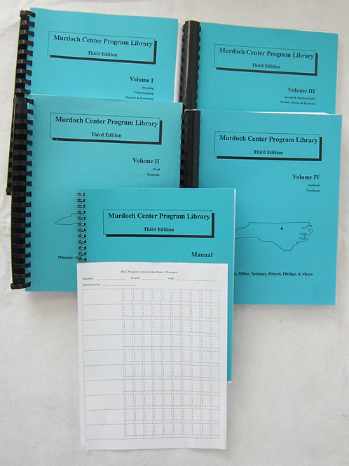 Program Library Manual and 4 Volumes