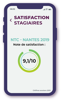 SATISFACTION STAGIAIRES 2019 - NTC VISA