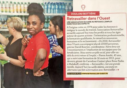 Article dans Nantes Passion - septembre 2019