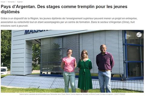 Actu presse ouest france - DJD.PNG