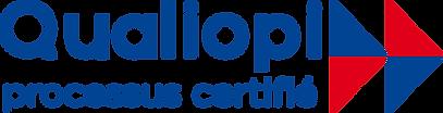 Logo Qualiopi, processus certifié par France Compétences