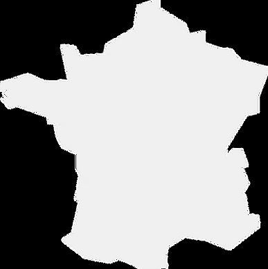 Carte de France du réseau