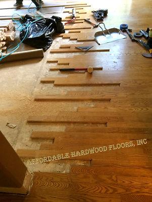 install hardwood floor