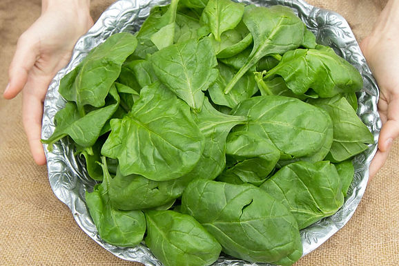 Spinach, Space