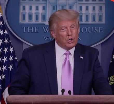 President Trump Announces FDA Approval for New COVID-19 Treatment