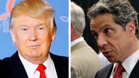 Gov. Cuomo: If Trump Comes to NYC He 'Better Have An Army'