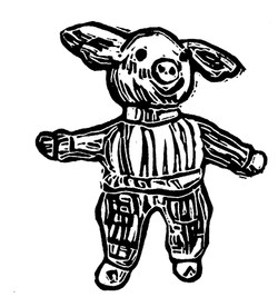 Pullover Pig BW