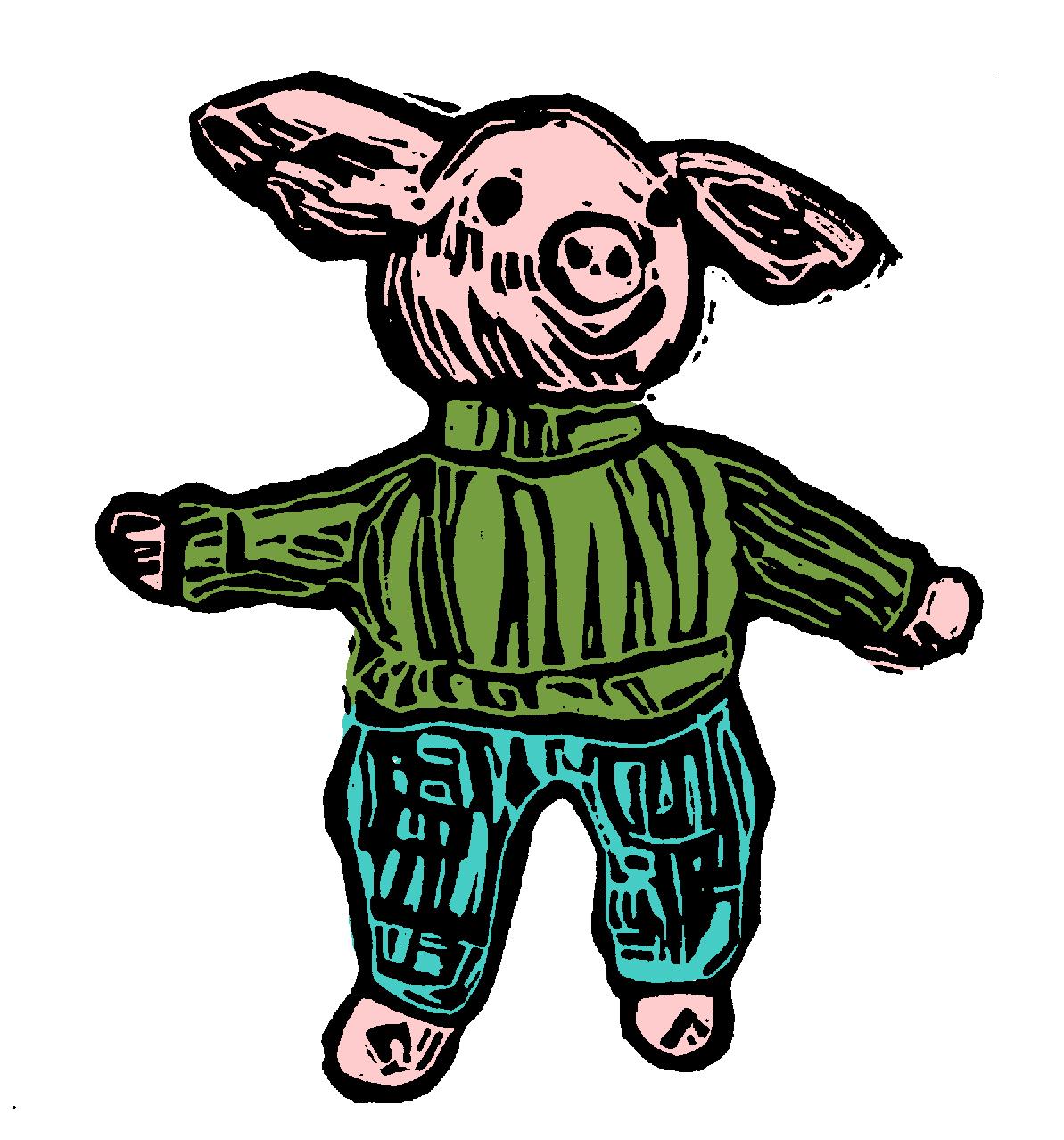 Pullover Pig