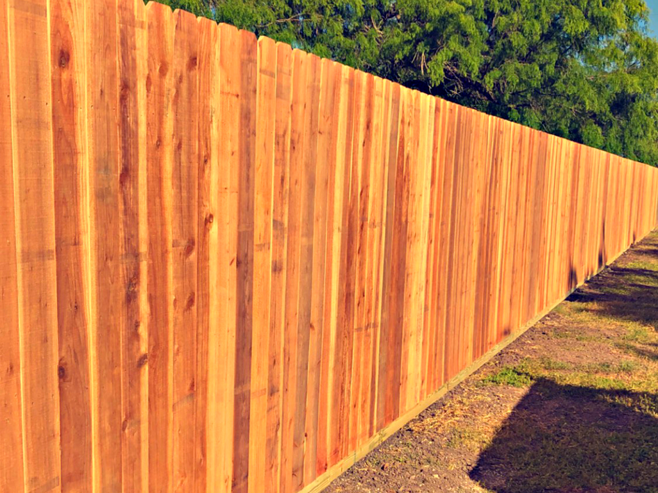 8' Cedar Privacy Fence