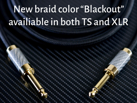 INTRODUCING BLACKOUT Cable Color