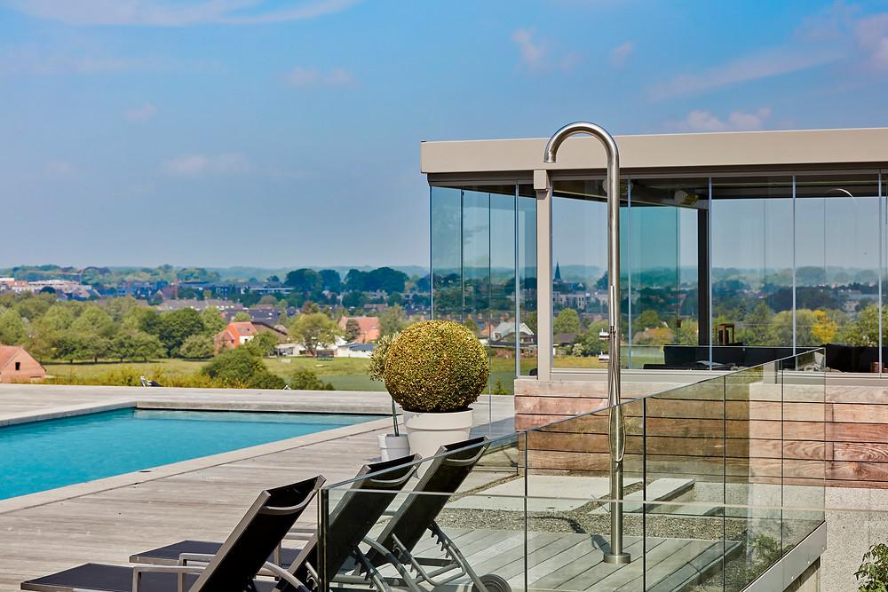 Sliding Glass tuin bijgebouwen