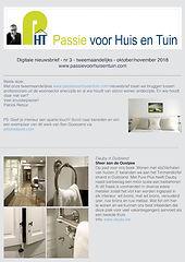 pag Nieuwsbrief Passie voor Huis en Tuin