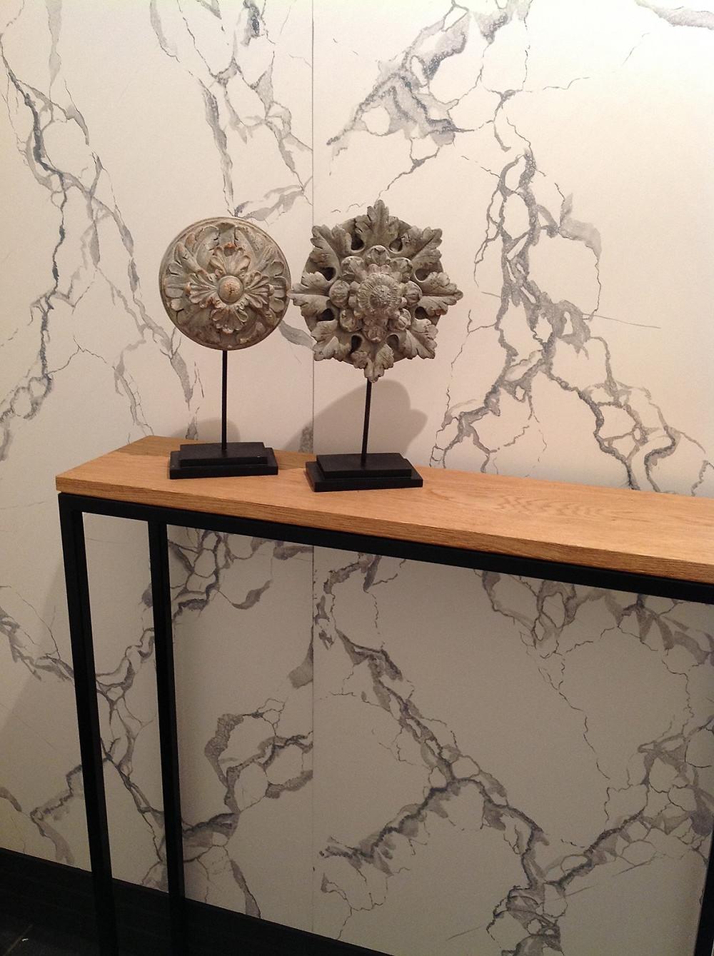 Deco-art faux-marbre artisanale vakman