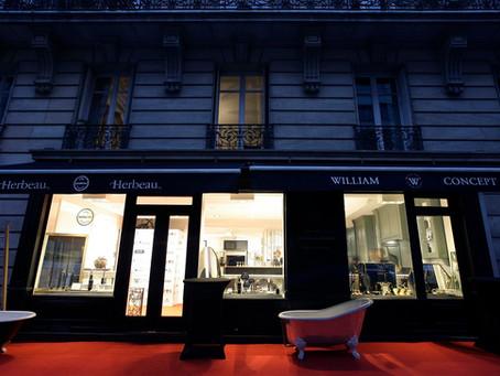 Grande fête à Paris chez William Concept