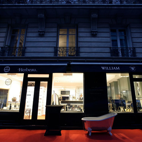 Grande fête à Paris chez William Concept