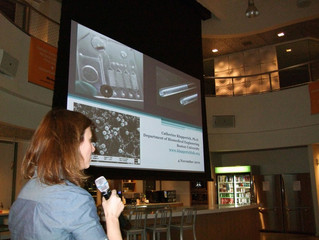 Catherine Klapperich speaks at November FluidicMEMS event