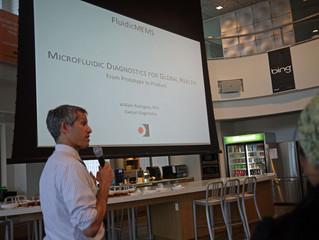 FluidicMEMS May 2011 Event: Bill Rodriguez of Daktari Diagnostics