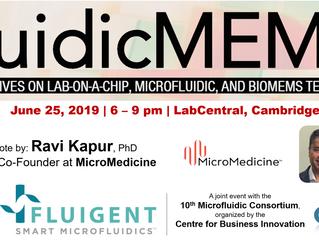 MicroMedicine for our next FluidicMEMS event