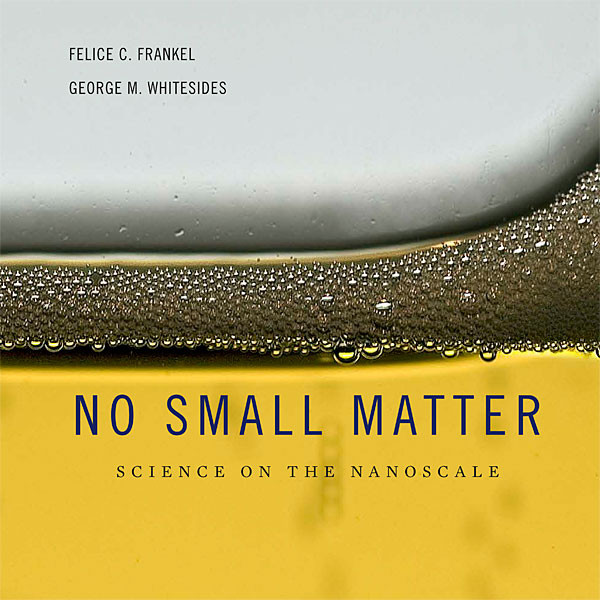 Cover of No Small Matter (Image credit: Felice Frankel)