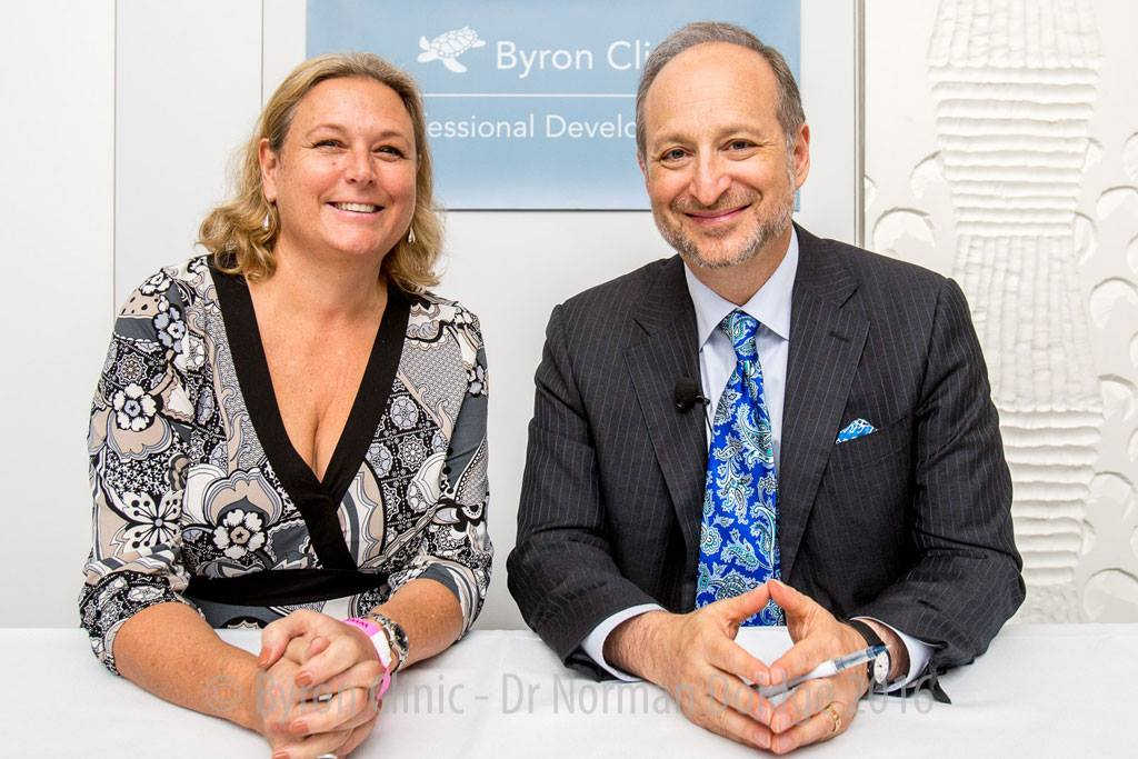 Dr Norman Doidge with Andrea Szabo