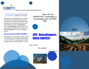 CAEM Presents EVS Housekeepers ROCK Contest!!