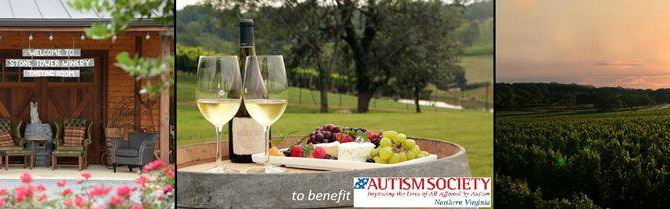 Wine & Dine for Autism at Stone Tower Winery