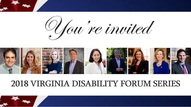 Please join us in meetings with the candidates for Virginia's 10th District