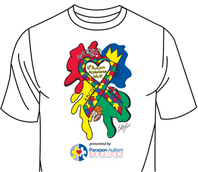 Submit Your Design for the 2018 Walk t-shirt