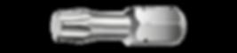 "Torx Bit kort 1/4"" torsonic roestvast staal"