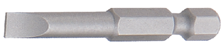 """Slotted Bit long 1/4"""" with Quicklock"""