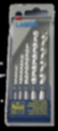 Masonry Drills in PVC Set