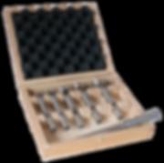 Forstne Bits Maxicut Rotastop in Wooden Set
