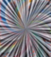 Little Bang Theory, 2014, acrylic, oil o