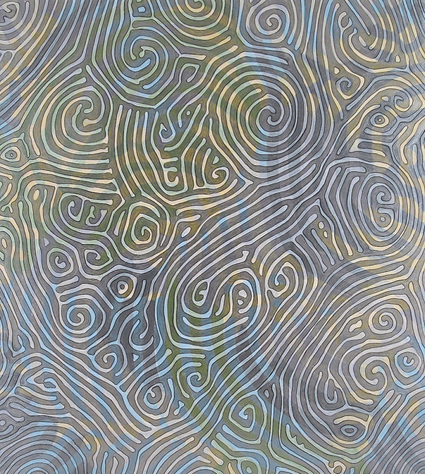 Reaction-Diffusion Two, 2012, acrylic, o