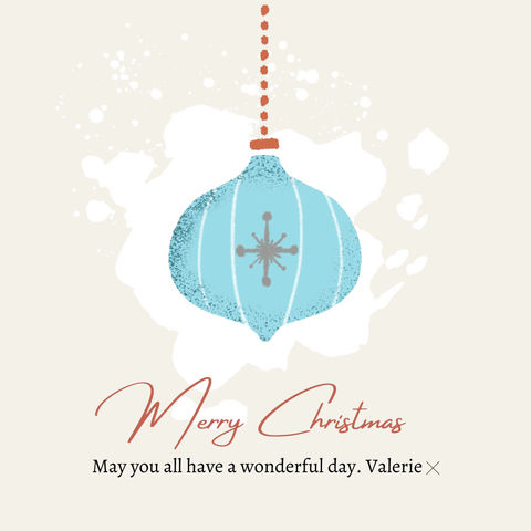 Wishing you all a very Merry Christmas