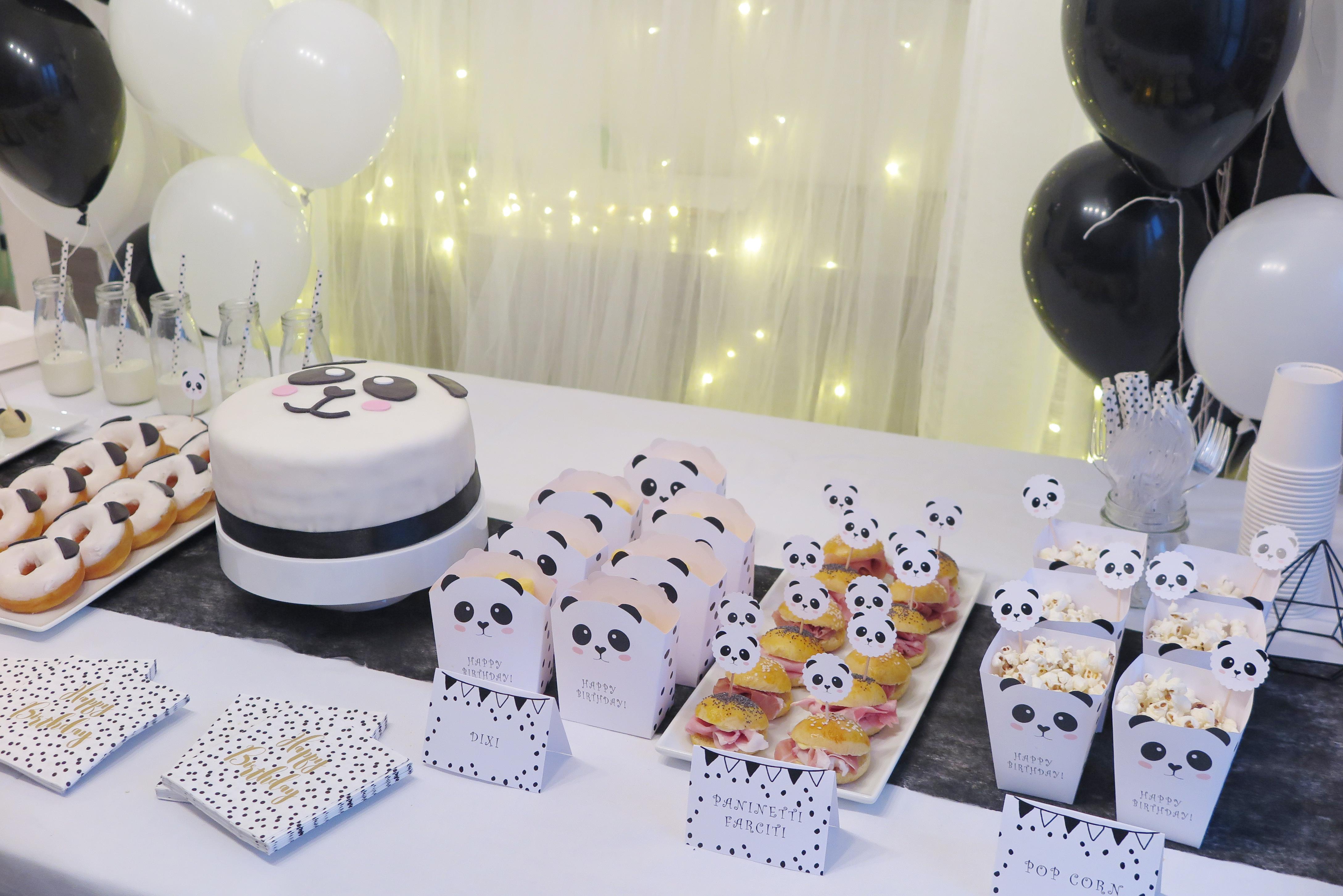 Compleanno a Tema Panda