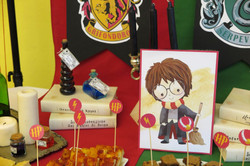 Compleanno a Tema Harry Potter