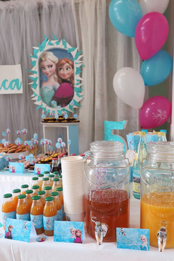 Compleanno a Tema Frozen